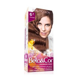 Coloração Beauty Color Bela&Cor Chocolate 6.7