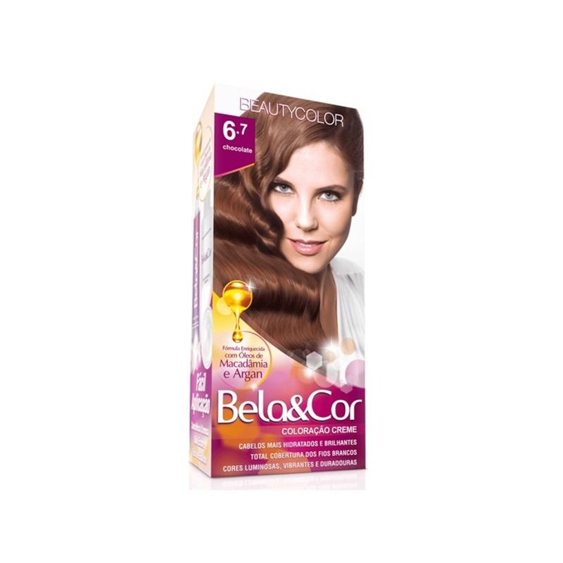 Coloração Beauty Color Bela&Cor Chocolate 6.7