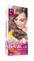 Coloração Beauty Color Bela&Cor Louro Médio 7.0