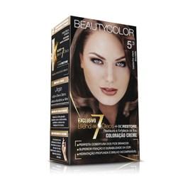 Coloração Beauty Color Castanho Claro Dourado 5.3