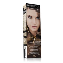 Coloração Beauty Color Individual 50 gr Chocolate Dourado 7.7