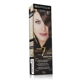 Coloração Beauty Color Individual 50 gr Louro Escuro Acinzentado 6.1