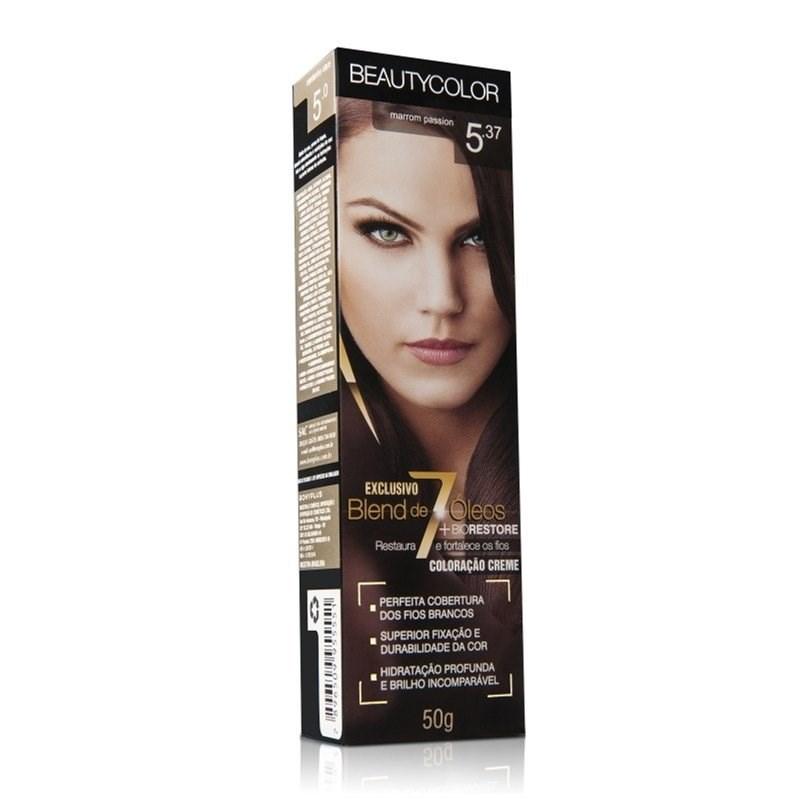 Coloração Beauty Color Individual 50 gr Chocolate Cafe 5.7