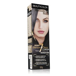 Coloração Beauty Color Individual 50 gr Preto Azulado 2.11