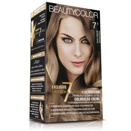 Coloração Beauty Color Louro Natural Acinzentado 7.1