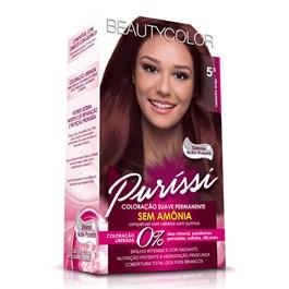 Coloração Beauty Color Puríssi Castanho Acaju 5.5