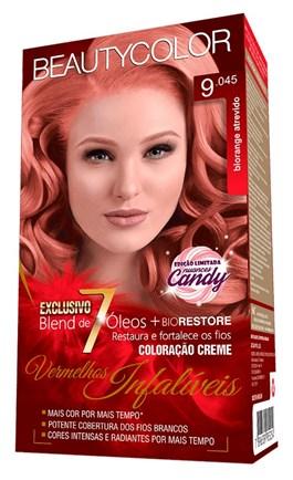 Coloração Beauty Color Vermelhos Infalíveis Blorange Atrevido 9.045