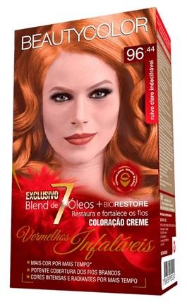 Coloração Beauty Color Vermelhos Infalíveis Ruivo Claro Indecifrável 96.44