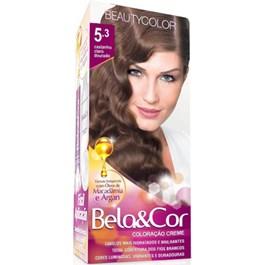 Coloração Bela & Cor 5.3 Castanho Claro Dourado