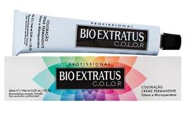 Coloração Bio Extratus Color 60 gr Louro Claro Dourado Acinzentado 8.31