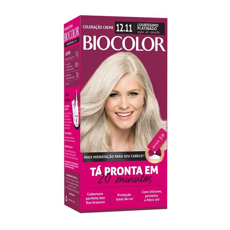 Coloração Biocolor 12.11 Louríssimo Ousado