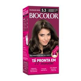 Coloração Biocolor Castanho Claro Dourado 5.3