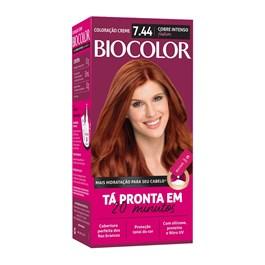 Coloração Biocolor Cobre Intenso 7.44