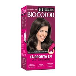 Coloração Biocolor Louro Cinza Escuro 6.1
