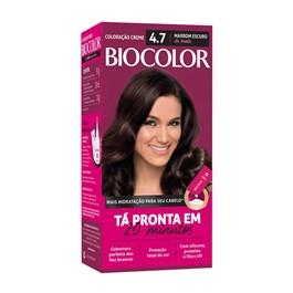 Coloração Biocolor Marrom Escuro 4.7