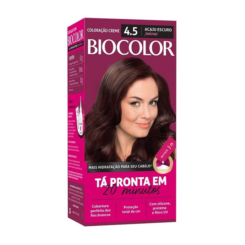 Coloração Biocolor Mini Kit Acaju Escuro Poderoso 4.5