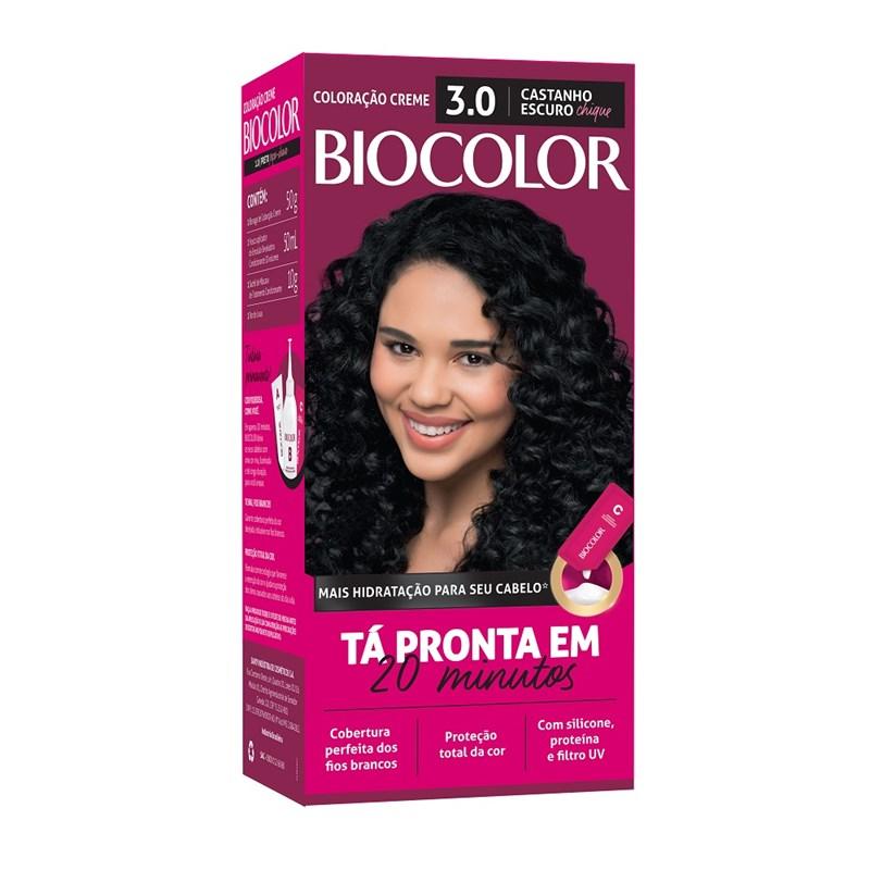 Coloração Biocolor Mini Kit Castanho Escuro Chique 3.0