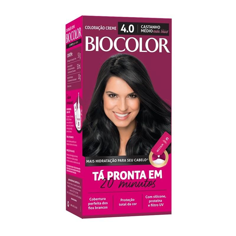 Coloração Biocolor Mini Kit Castanho Malicia 4.0