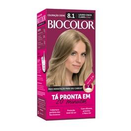 Coloração Biocolor Mini Kit Louro Acinzentado Estiloso 8.1
