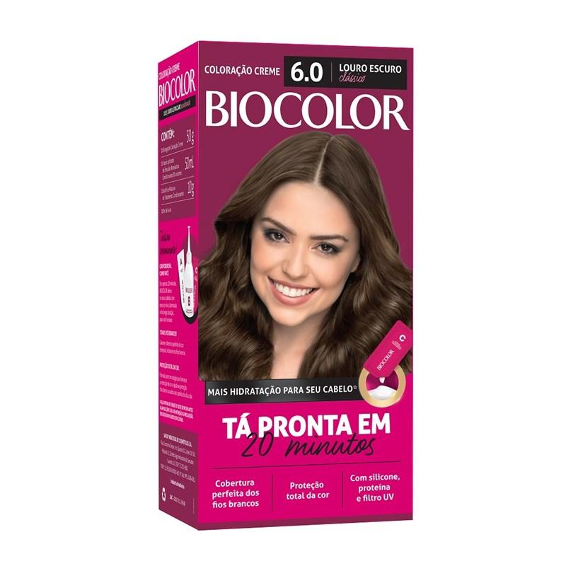 Coloração Biocolor Mini Kit Louro Escuro Clássico 6.0