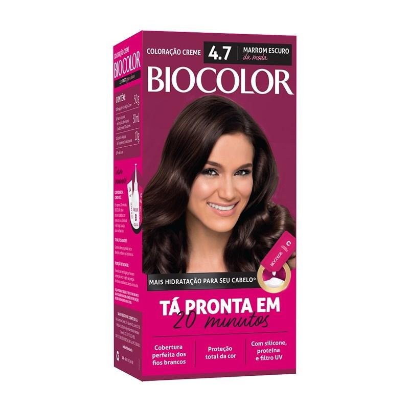 Coloração Biocolor Mini Kit Marrom Escuro da Moda 4.7