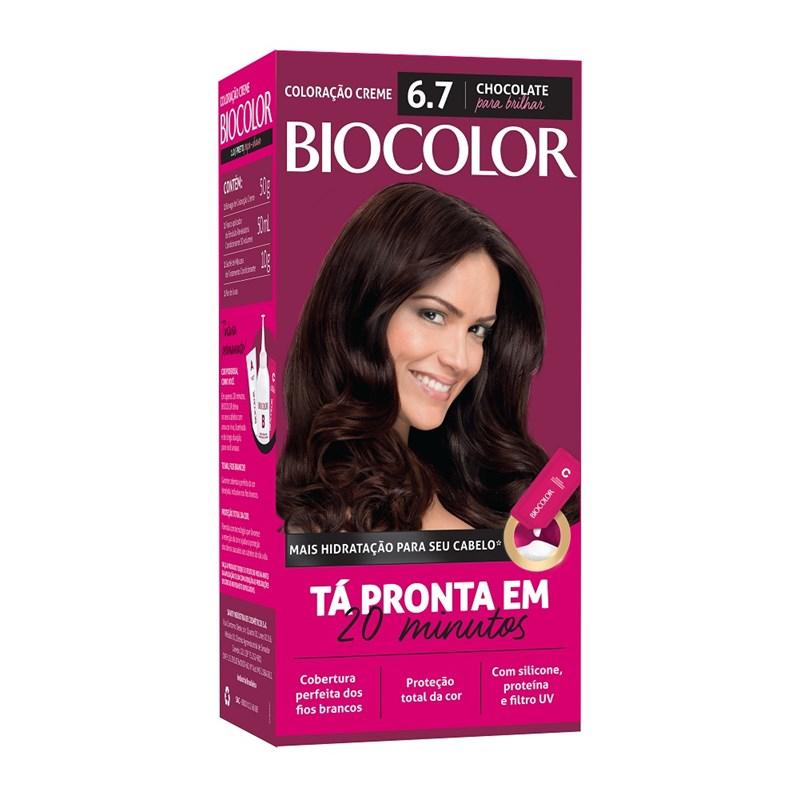 Coloração Biocolor Mini Kit Marrom Natural Irresistivel 6.7