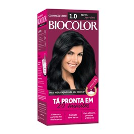 Coloração Biocolor Mini Kit Preto Fundamental 1.0