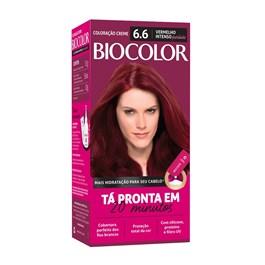 Coloração Biocolor Mini Kit Vermelho Intenso Vibrante 6.6