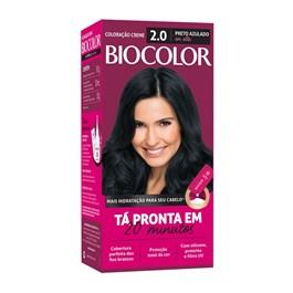 Coloração Biocolor Preto Azulado 2.0