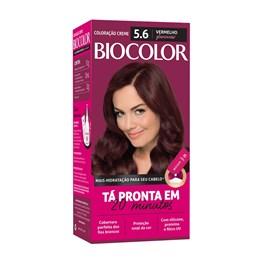 Coloração Biocolor Vermelho 5.6