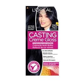 Coloração Casting 210 Preto Azulado