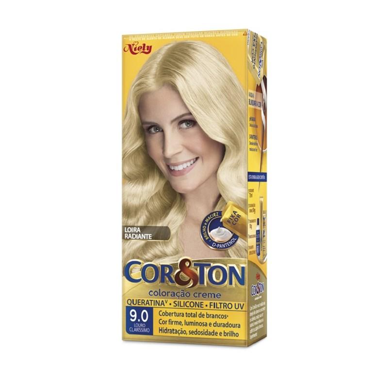 Coloração Cor & Ton Louro Claríssimo 9.0