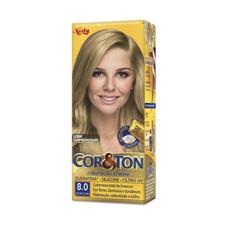 Coloração Cor & Ton Louro Claro 8.0