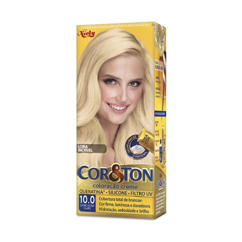 Coloração Cor & Ton Louro Ultra Claro 10.0