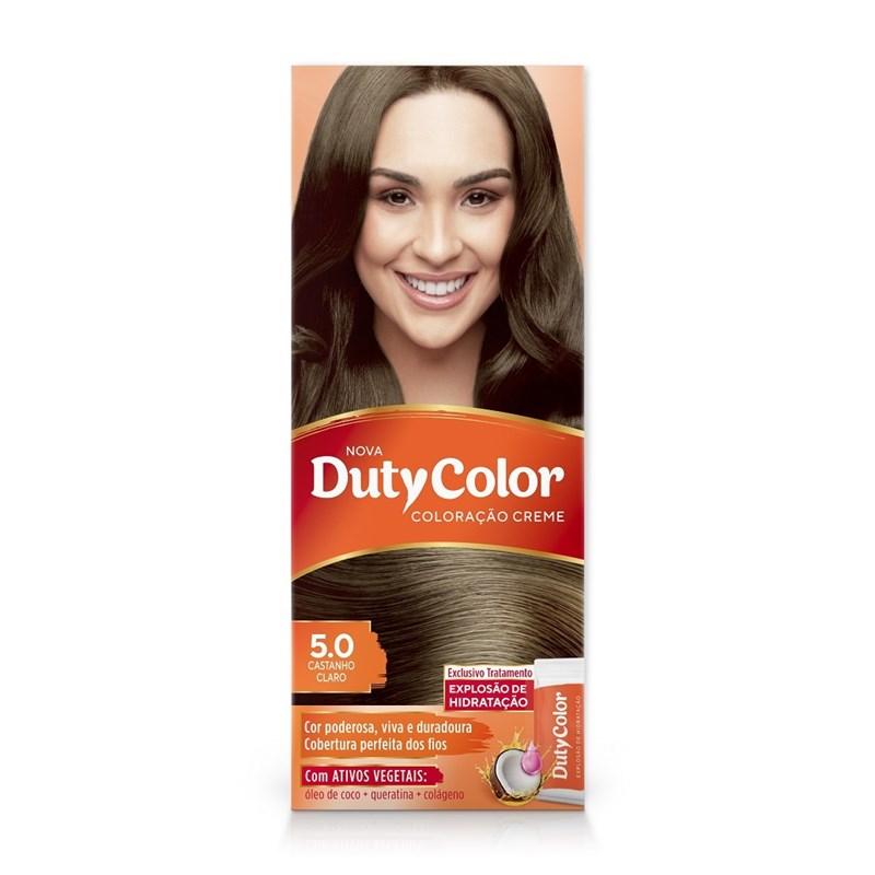 Coloração DutyColor Castanho Claro 5.0
