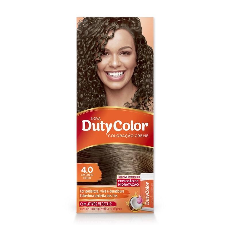 Coloração DutyColor Castanho Médio 4.0