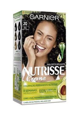 Coloração Garnier Nutrisse 20++ Preto