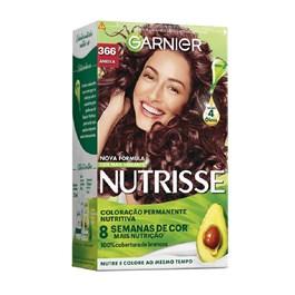 Coloração Garnier Nutrisse Creme Ameixa 366