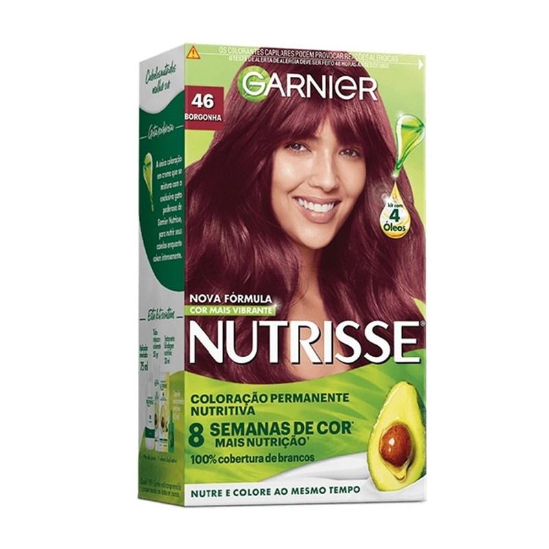Coloração Garnier Nutrisse Creme Borgonha 46