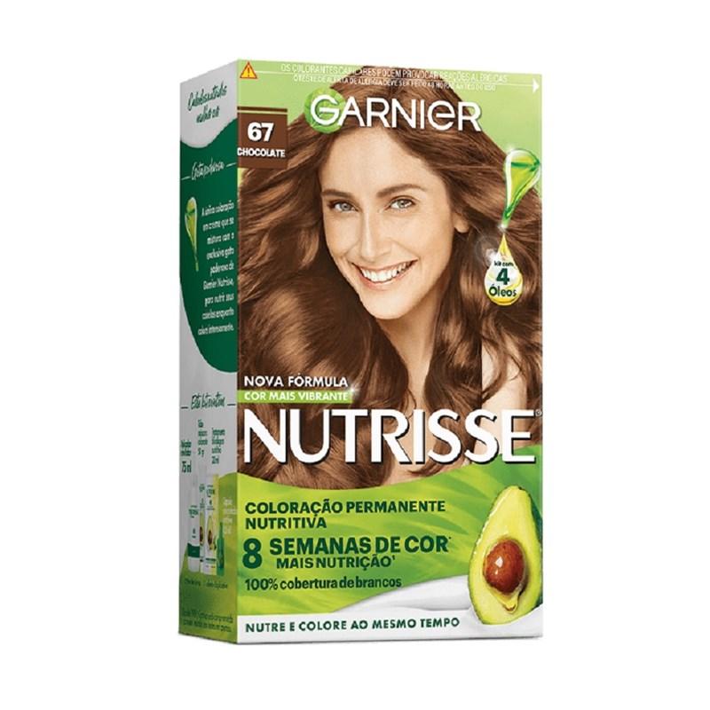 Coloração Garnier Nutrisse Creme Chocolate 67