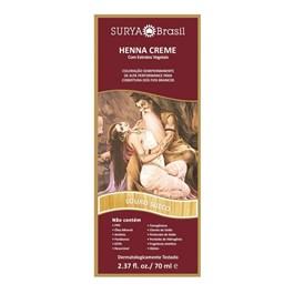 Coloração Henna Creme Surya 70 ml Louro Sueco