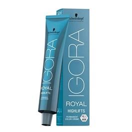 Coloração Igora Royal Highlifts 10.14 Louro Ultra Claro Cinza Bege 60g