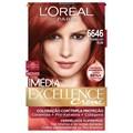 Coloração Imédia Excellence 6646 Vermelho Rubi