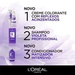 Coloração Imédia Excellence Blonde Suprême Louro Claro Pérola 8.12