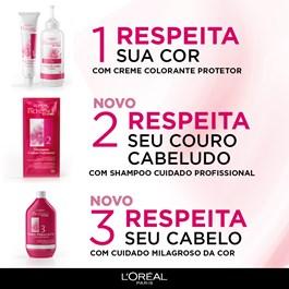 Coloração Imédia Excellence Castanho Claro Dourado 5.3