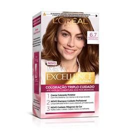 Coloração Imédia Excellence Chocolate 6.7