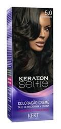 Coloração Keraton Selfie 50 gr Castanho Claro 5.0