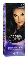 Coloração Keraton Selfie 50 gr Castanho Médio 4.0