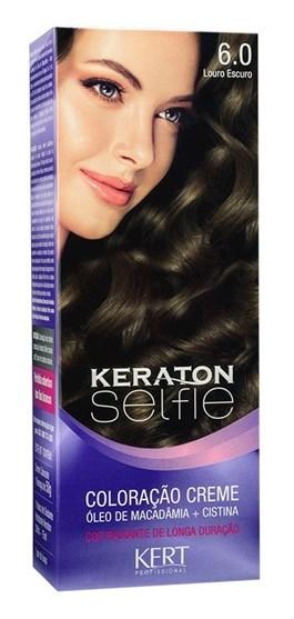 Coloração Keraton Selfie 50 gr Louro Escuro 6.0