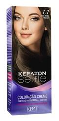 Coloração Keraton Selfie 50 gr Louro Médio Marrom 7.7